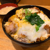 【とんかつ明石(あかいし)】《新橋・夜》ロースカツ丼定食の画像
