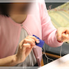JLレッスン/ソウタシエで着物用の髪飾りの画像