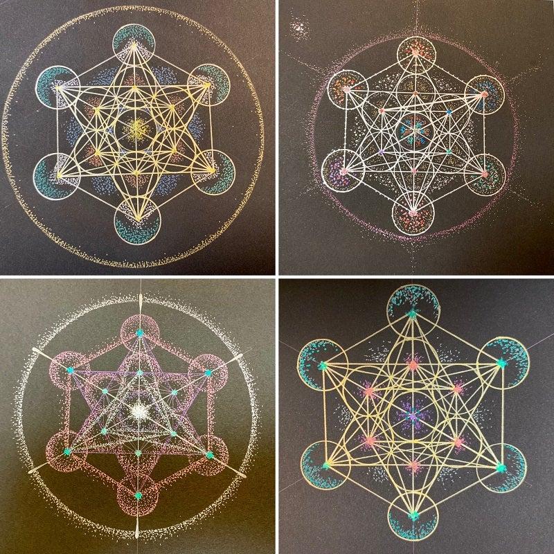 メタトロンキューブ神聖幾何学
