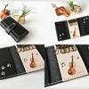 ■楽器がモチーフの革雑貨♪キーケース・パスケース(オーダーメイド作品)の画像