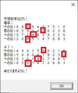 ナンバーズ 4 予想 ナンバーズ4 次回数字の無料予想