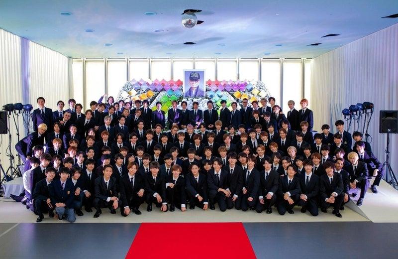 喜多川 葬 ジャニー 写真 家族