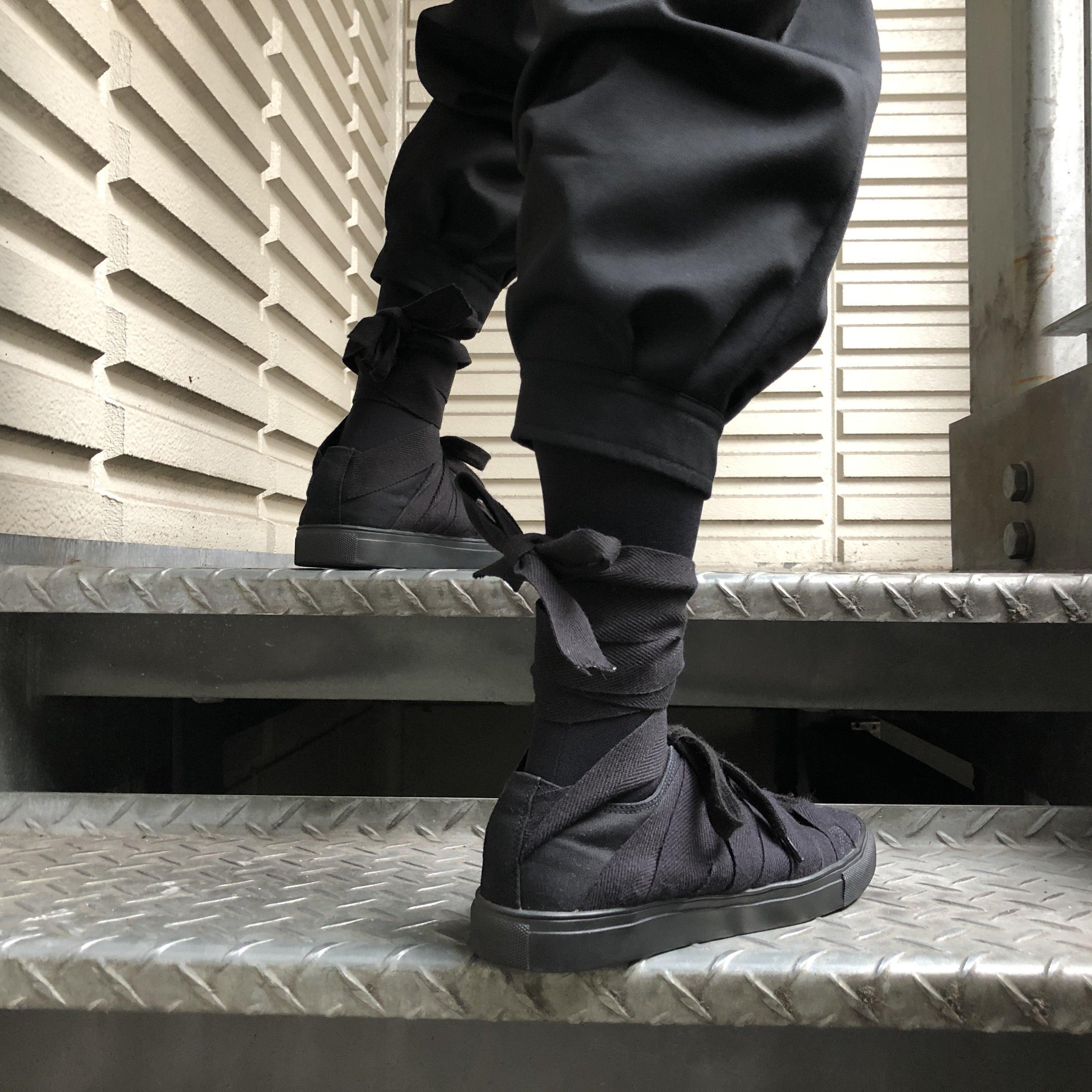 YOHJI YAMAMOTO POUR HOMME 17SS Bandage sneaker