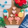 (募集)1dayアイシングクッキー 『なかよし♡フラミンゴ』の画像