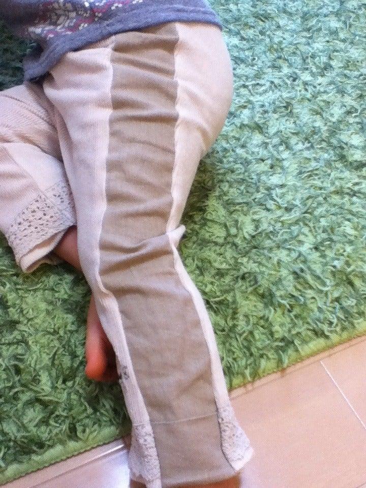ズボンをサイズアップ!