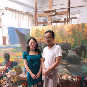Paintings that have been waited for 22years..の画像