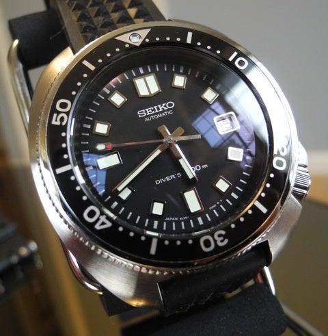 promo code 1e85a 8cdb6 腕時計遍歴78 植村ダイバー復刻モデル -セイコーダイバーズ ...