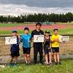 北海道小学生陸上競技大会終了!!
