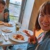 朝食タイム♡食べすぎ笑