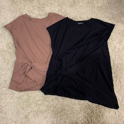 *しまむら購入品*980円アシメTシャツをイロチ買い