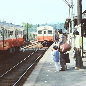 40年前のJR八高線の写真