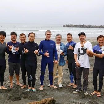 みんな久しぶりに極上波でサーフィンやった〜ラーメン王が炭水化物2000カロリーぺろり完食する〜♪