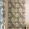 【施工事例】軽井沢別荘宅~主寝室 落ち着く お花柄カーテン~の画像
