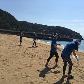海の日浜ヨガイベント☆海と日本プロジェクト