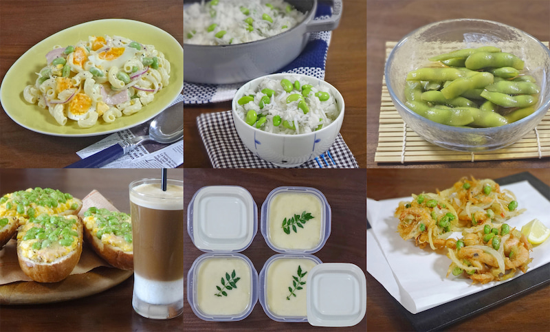 枝豆が美味しく味わえる絶品レシピ6選