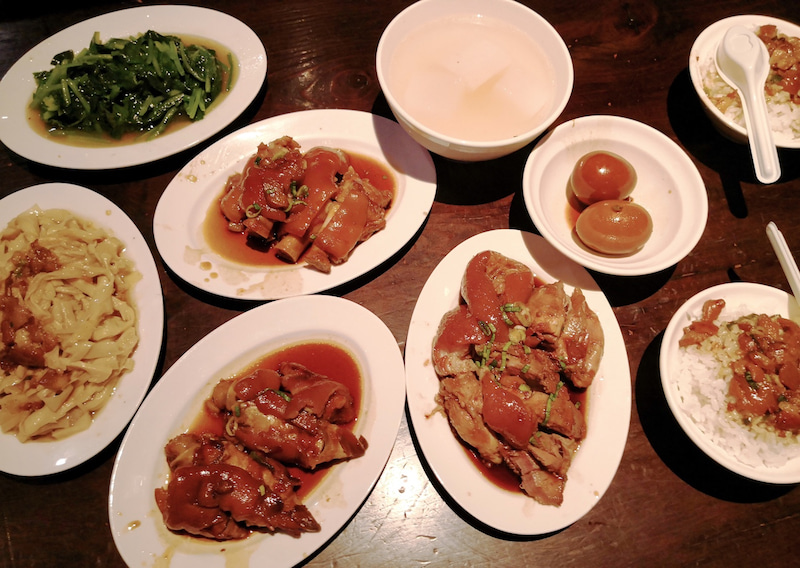 台北おすすめグルメの豚足