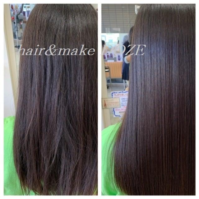 1度目より2度目、2度目より3度目!髪質改善プレミアムトリートメントの効果!