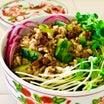 缶詰の秋刀魚蒲焼で作る♪さんまときゅうり漬物の混ぜすし飯♡