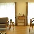 幅70㎝の家具は窓と…