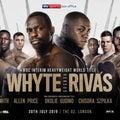 ホワイトvsリバス 「結果」 WBC世界ヘビー級暫定王座決定戦
