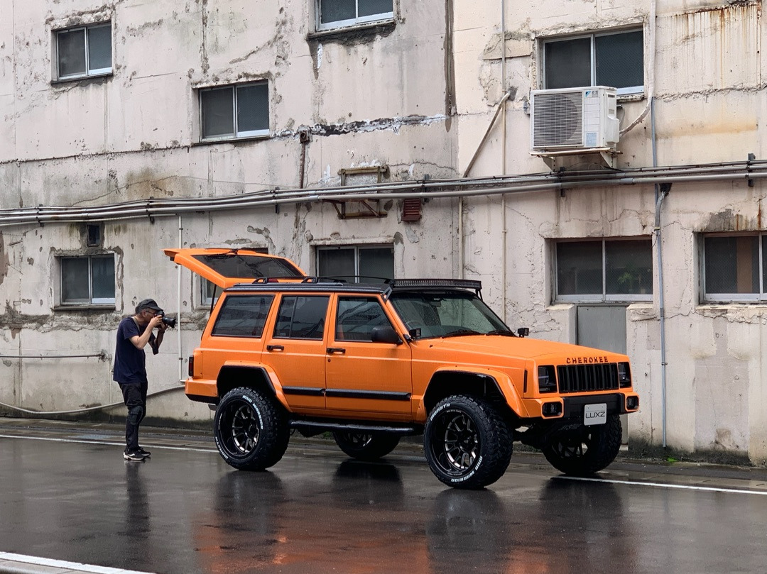 【LAX STYLE】Cherokee XJ!アメマガ撮影!の記事より
