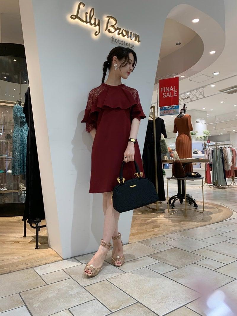 c1cfaf025d7 オケージョンワンピースのご紹介 | Lily Brown神戸マルイ-STAFF BLOG