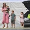 【英国王室】キャサリン妃 3人の子供と&メーガン妃 息子とキング・パワーロイヤルチャリティポロの画像