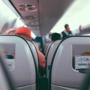 機内で使える英会話フレーズの画像