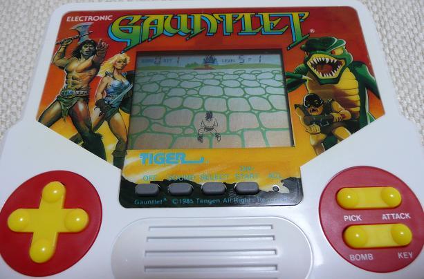 ガントレット GAUNTLET (Tiger/セガ ゲームビジョン)   GAME&WATCH ...