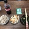 今日のお昼ご飯【写真に違和感?】の画像