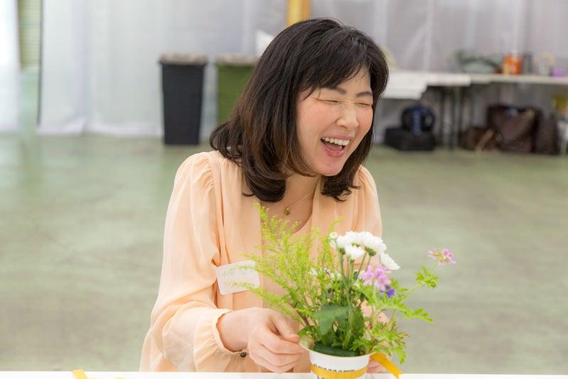 お花で笑顔に