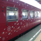 今朝の始発列車は地球探索鉄道花咲線ラッピングトレイン♪の記事より