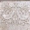 [マンション施工事例]素敵なウィリアムモリスのリネンカーテン~いちご泥棒刺繍~の画像