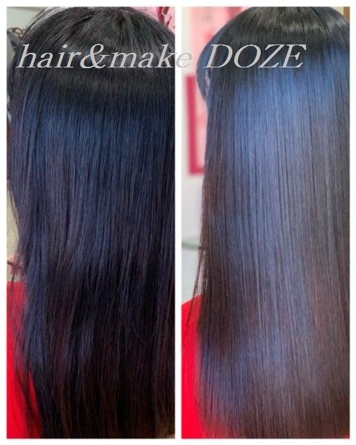 髪質改善プレミアムトリートメント6回以上になってくると美髪の次元が違います!