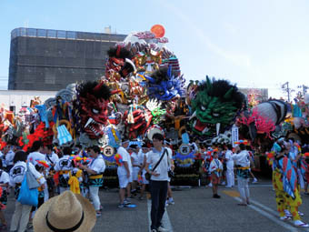 八戸 三 社 大祭 2019 お祭り 広場