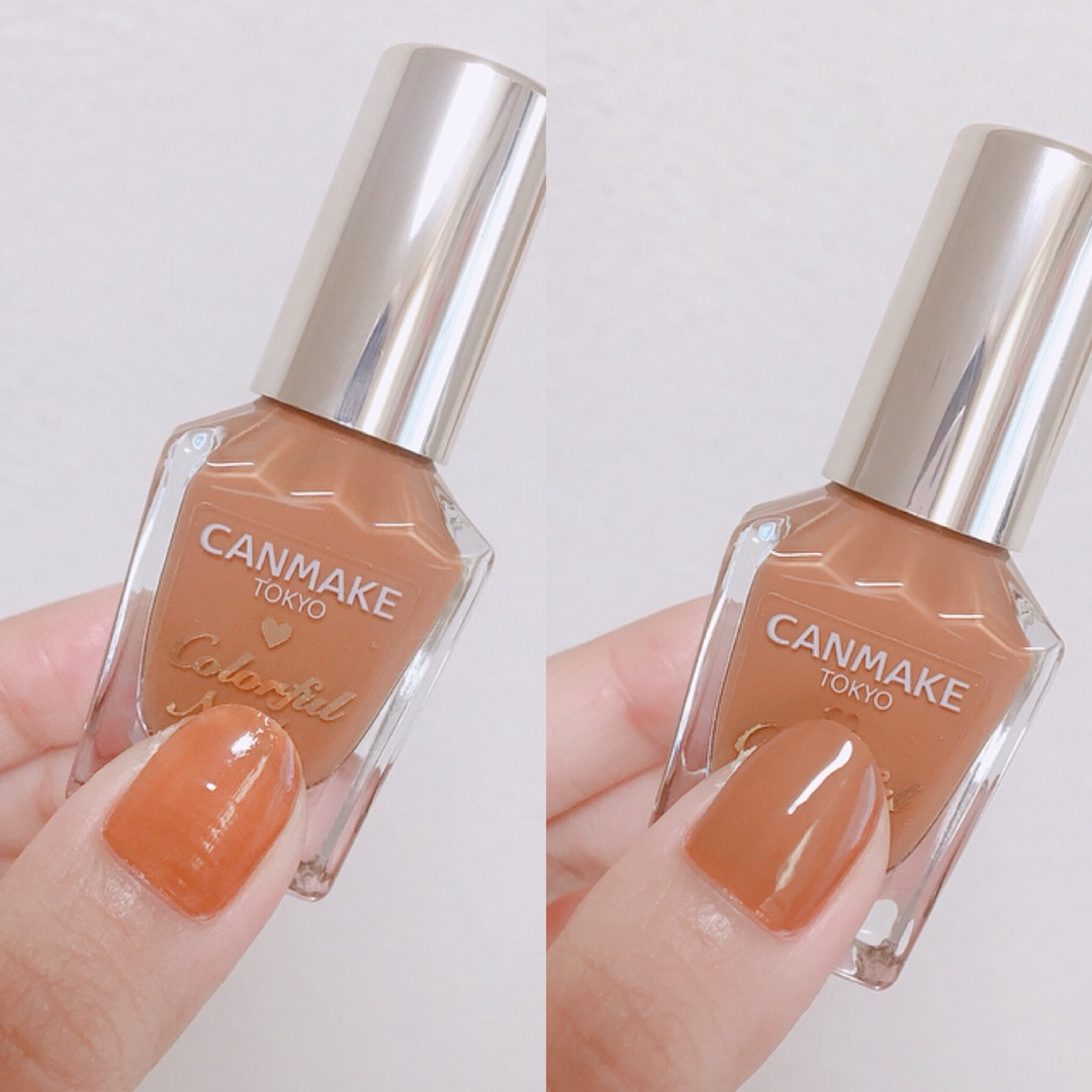 8月1日発売のCANMAKEの新色「ビターキャラメル」カラーが