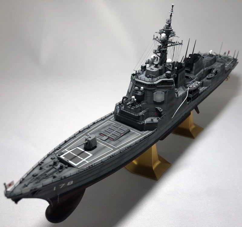 ハセガワ 1/450 海上自衛隊 あたご型イージス護衛艦 DDG178 あしがら