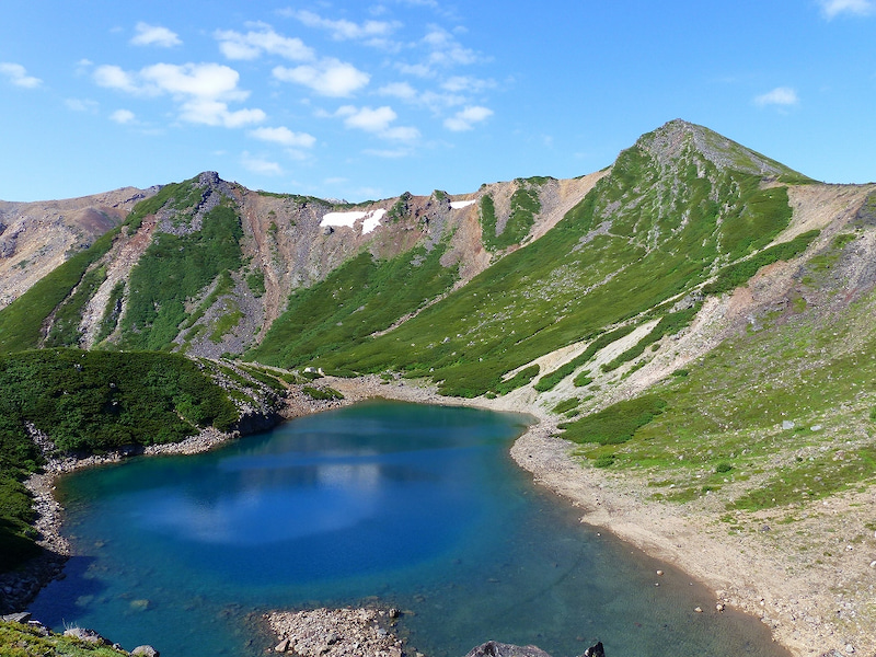 小屋 御嶽 池 五 ルート の 山