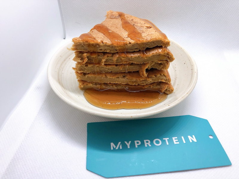 作り方 マイプロテイン パンケーキ おやつにおすすめ!プロテインパンケーキの作り方【基本のレシピ】
