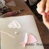 クレイで作るウェディング小物などの画像