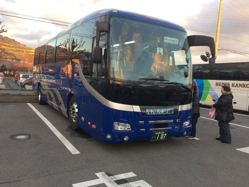 バス ツアー 気分 旅