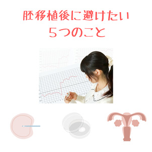 IVF・ICSI|移植後に避けたい5つのことの画像