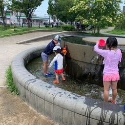 画像 水遊びができる公園@JR八尾 の記事より 2つ目