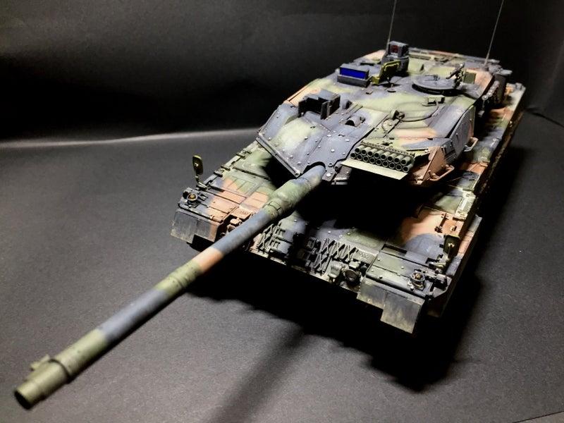 モンモデル 1/35 ドイツ主力戦車 レオパルト2A7