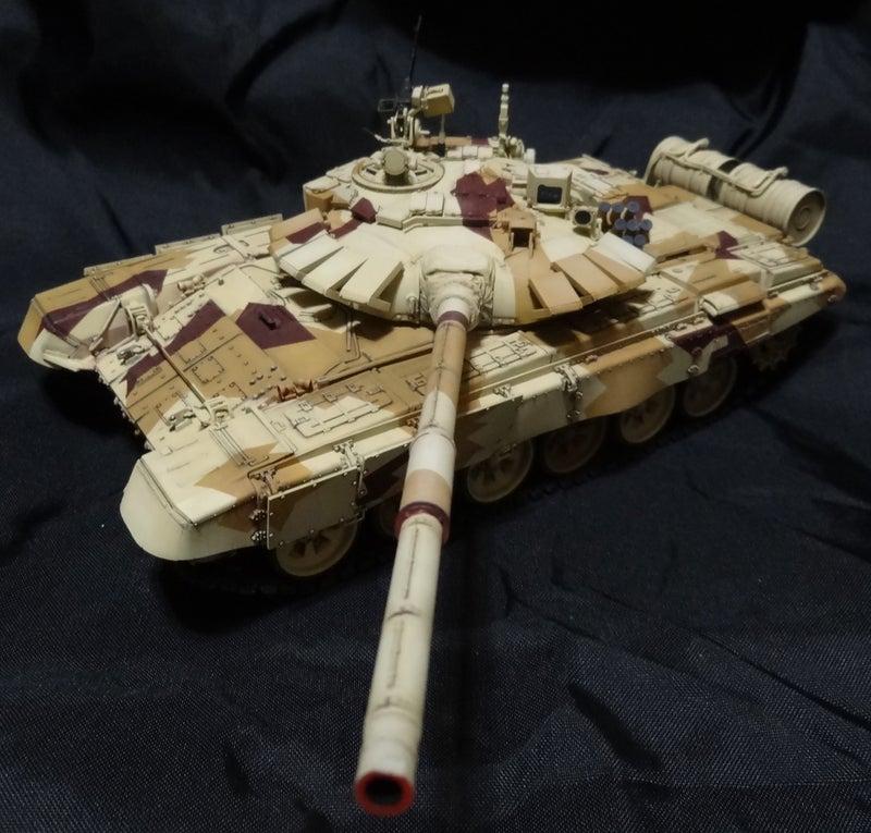 モンモデル 1/35 ロシア主力戦車 T-72B3