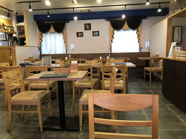南インド料理店