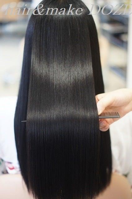 圧倒されるほどの美髪は定期的なメンテナンスで!