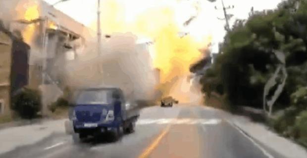 韓国 半導体 工場 爆発