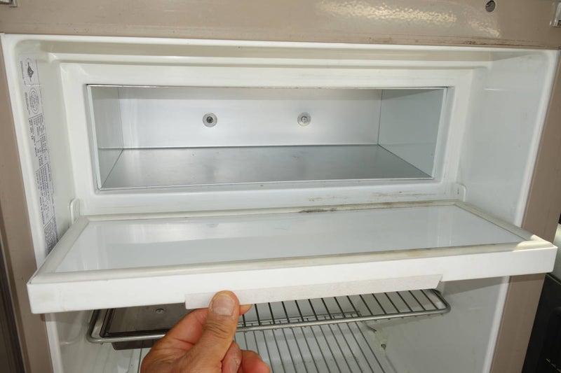 中古ドメティック3WAY冷蔵庫