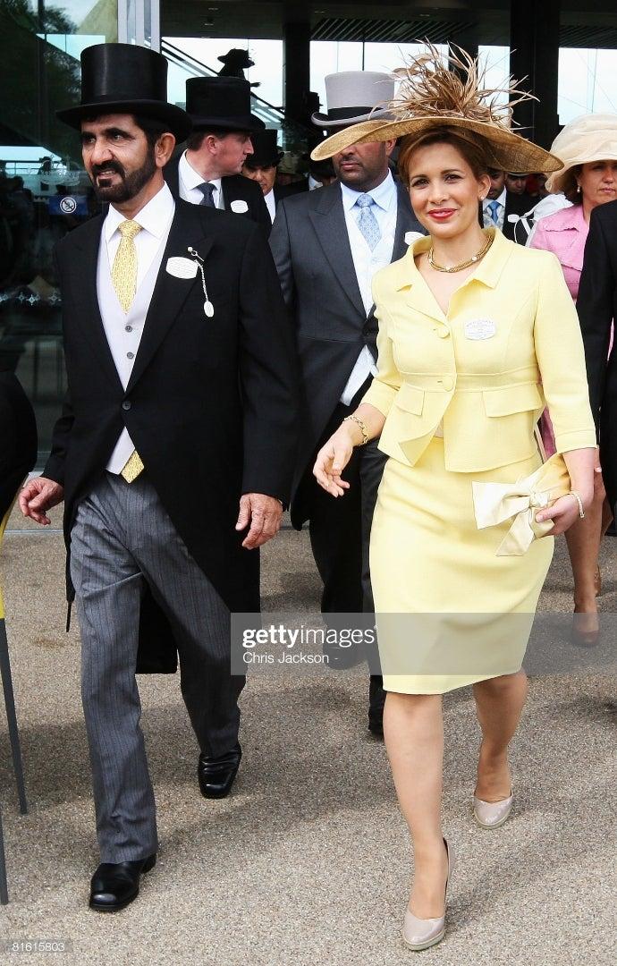 ドバイ首長夫人・ヨルダン王女 ハヤー妃 離婚へ